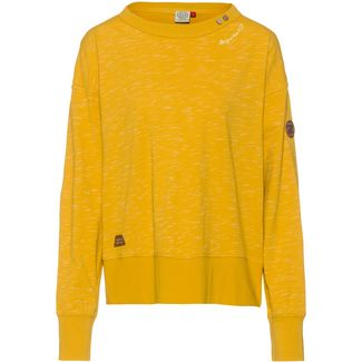 Ragwear Fidli Sweatshirt Damen yellow