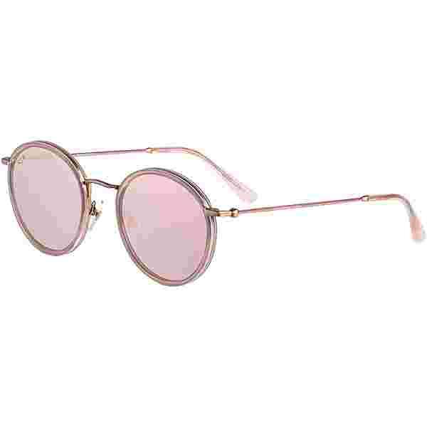 Kapten & Son Amsterdam Sonnenbrille all pink mirrored