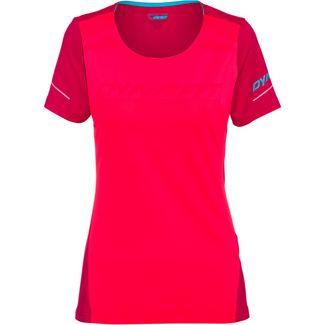 Dynafit Alpine Funktionsshirt Damen fluo pink