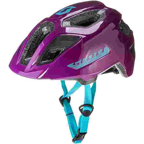 SCOTT Spunto Junior (CE) Fahrradhelm Kinder deep purple