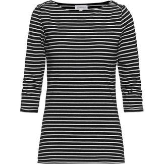 ARMEDANGELS Dalenaa Langarmshirt Damen black-off white