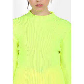 MYMO Strickpullover Damen neon grün