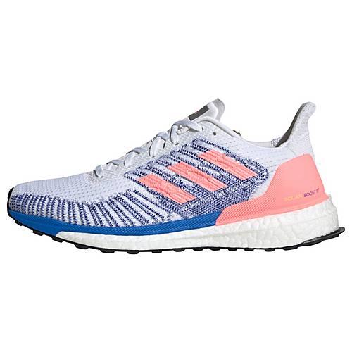 adidas Solarboost ST 19 Schuh Laufschuhe Damen Cloud White Light Flash Red Glow Blue im Online Shop von SportScheck kaufen