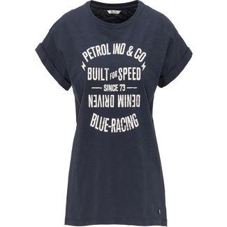Petrol Industries Printshirt Damen Deep Navy