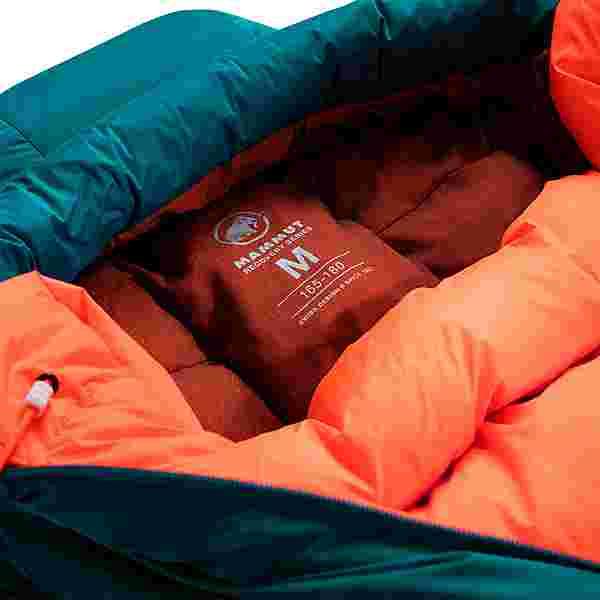 Mammut Women's Protect -21C Daunenschlafsack Damen petrol