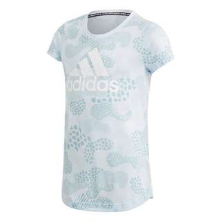 adidas Must Haves Graphic T-Shirt T-Shirt Kinder Sky Tint / Ash Grey / White
