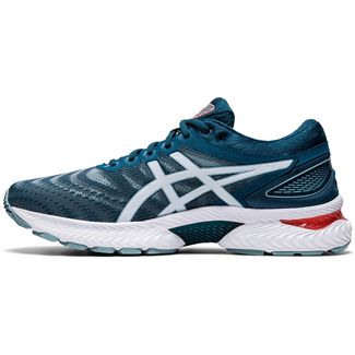 ASICS GEL-NIMBUS 22 Laufschuhe Herren light steel-magnetic blue
