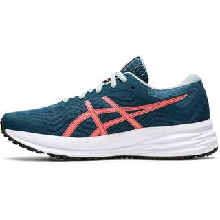 ASICS Patriot 12 Laufschuhe Kinder magnetic blue-sunrise red