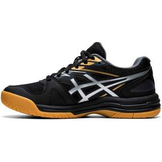ASICS Upcourt Hallenschuhe Kinder black-pure silver
