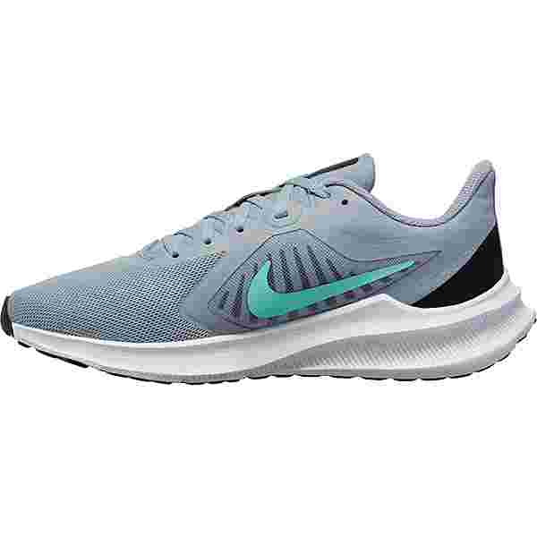 Nike Downshifter 10 Laufschuhe Damen obsidian mist-hyper turq-black-sky grey