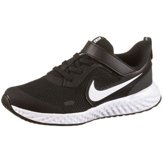 Nike Revolution 5 Laufschuhe Kinder black-white-anthracite