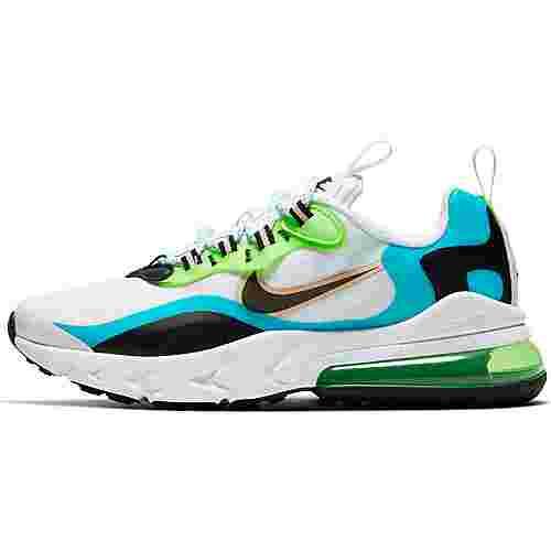 Nike AIR MAX 270 REACT SE Sneaker Kinder oracle aqua-black-ghost green