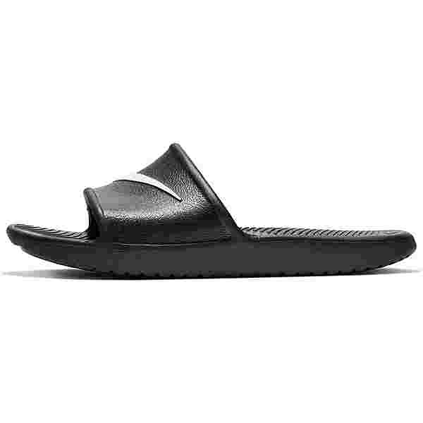 Nike Kawa Shower Badelatschen Kinder black-white