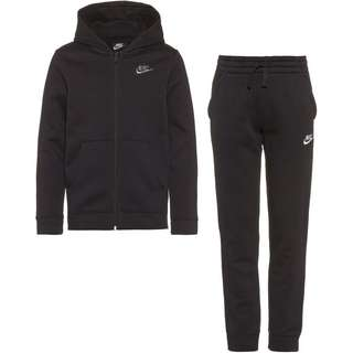Nike B NSW CORE BF TRK SUIT Trainingsanzug Kinder black-black-black-white
