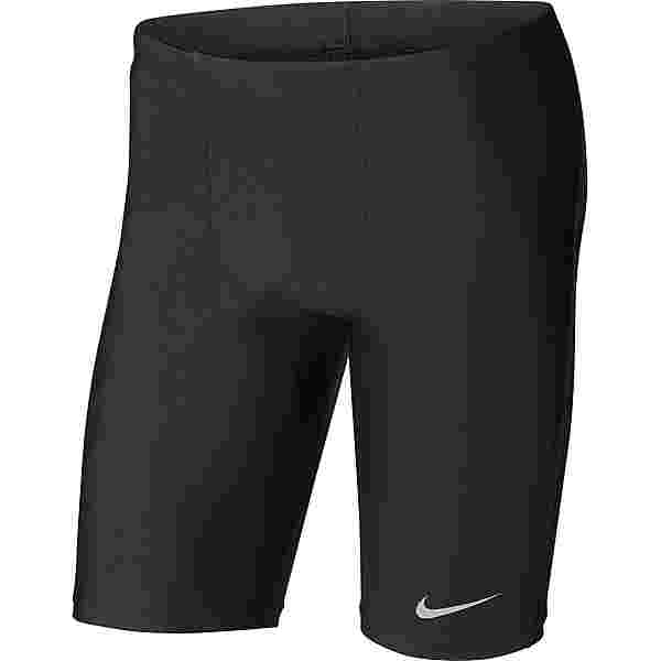 Nike Fast Half Lauftights Herren black-reflective silv