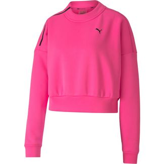 PUMA Funktionssweatshirt Damen luminous pink
