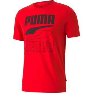 PUMA Rebel T-Shirt Herren high risk red