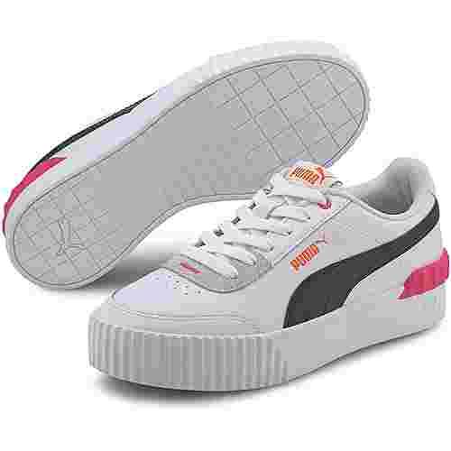 PUMA Carina Lift Sneaker Damen puma black-puma white-glowing