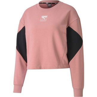 PUMA Rebel Sweatshirt Damen foxglove