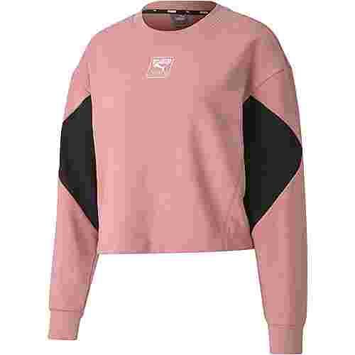 PUMA Rebel Sweatshirt Damen foxglove