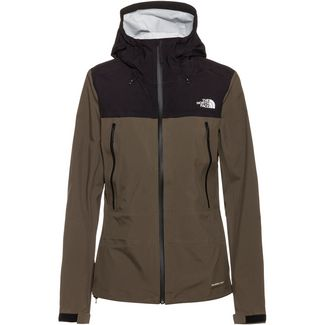 The North Face Tente Hardshelljacke Damen new taupe green/tnf black