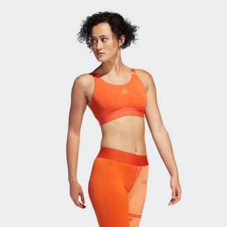 adidas Don't Rest Branded Sport-BH Sport-BH Damen Orange
