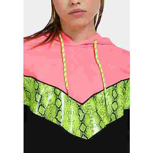 MYMO Strickpullover Damen neon pink