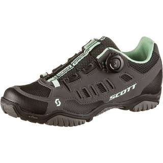 SCOTT Sport Crus-R Boa Fahrradschuhe Damen dark grey/mint green