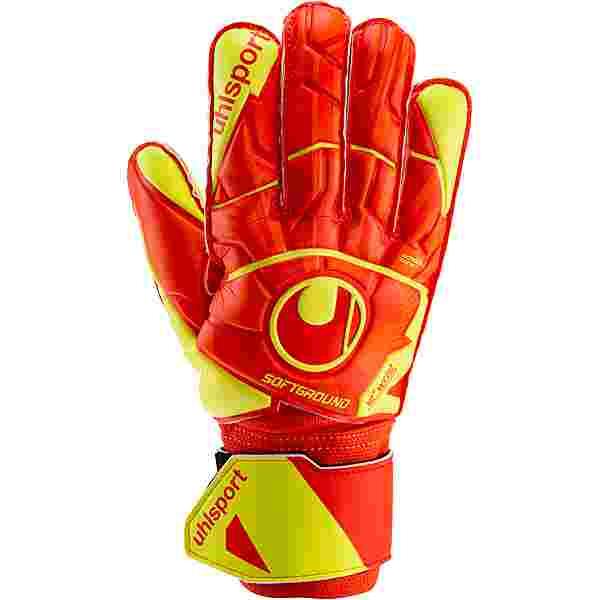 Uhlsport Dynamic Impuls Soft Pro Torwarthandschuhe dynamic orange-fluo gelb
