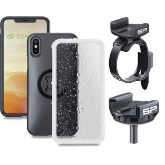 Sp Connect BIKE BUNDLE IPHONE XR . Fahrradhalterung schwarz