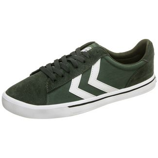 hummel Nile Canvas Low Sneaker Herren oliv