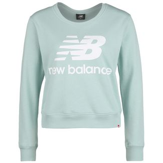 NEW BALANCE Essentials Crew Sweatshirt Damen blau / dunkelblau