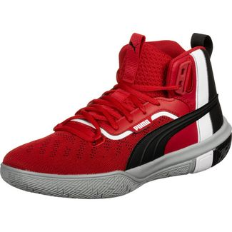 PUMA Legacy March Madness Pack Basketballschuhe Herren rot / schwarz
