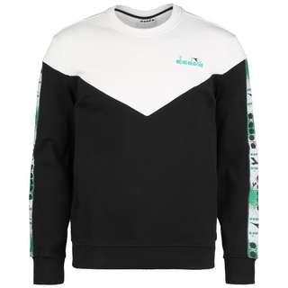 Diadora Crew 5Palle Offside Sweatshirt Herren schwarz / weiß