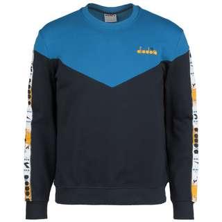 Diadora Crew 5Palle Offside Sweatshirt Herren blau / schwarz