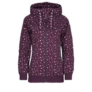 ALIFE AND KICKIN Black MambaAK Kurzjacke Damen grape