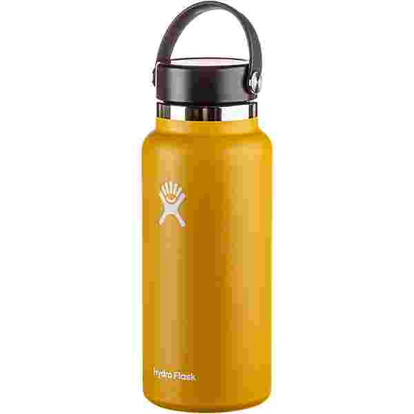 Hydro Flask 32 OZ Wide Mouth with Flex Cap 946 ml Isolierflasche sunflower