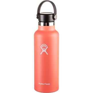 Hydro Flask 18 OZ Standard Mouth 532ml Isolierflasche hibiskus