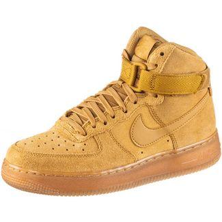 Nike Air Force 1 Sneaker Kinder wheat-wheat-gum light brown