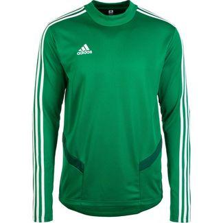 adidas Tiro 19 Langarmshirt Herren grün / weiß