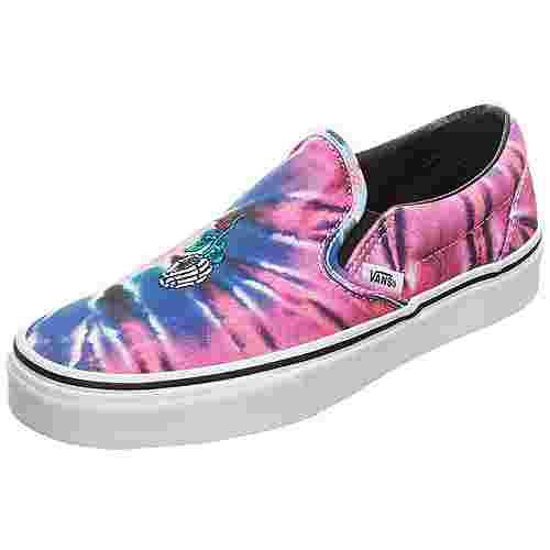 Vans Classic Slip-On Sneaker Damen pink / blau