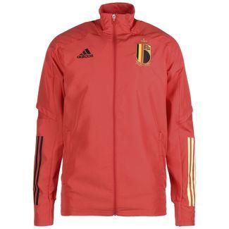 adidas RBFA Belgien EM 2020 Trainingsjacke Herren rot