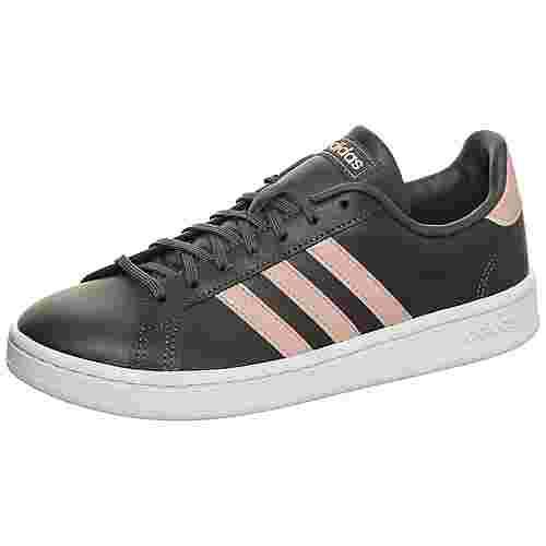 adidas Grand Court Sneaker Damen grau / pink