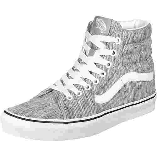 Vans Sk8-Hi Sneaker Damen grau / weiß