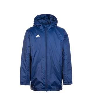 adidas Core 18 Regenjacke Kinder dunkelblau / weiß