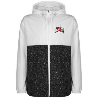 Nike Jordan Classic Windwear Outdoorjacke Herren weiß / schwarz