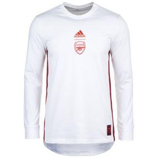 adidas Arsenal London Funktionssweatshirt Herren weiß