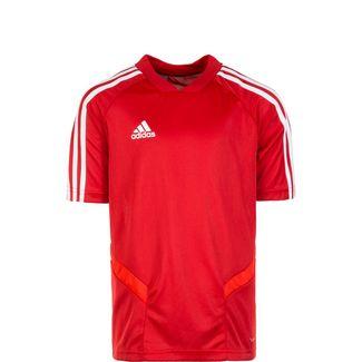 adidas Tiro 19 Funktionsshirt Kinder rot / weiß
