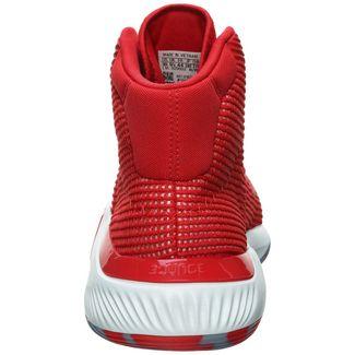 adidas Pro Bounce 2019 Basketballschuhe Herren rot / weiß