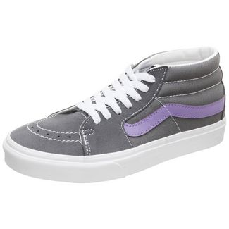 Vans Sk8-Mid Sneaker Damen grau / lila